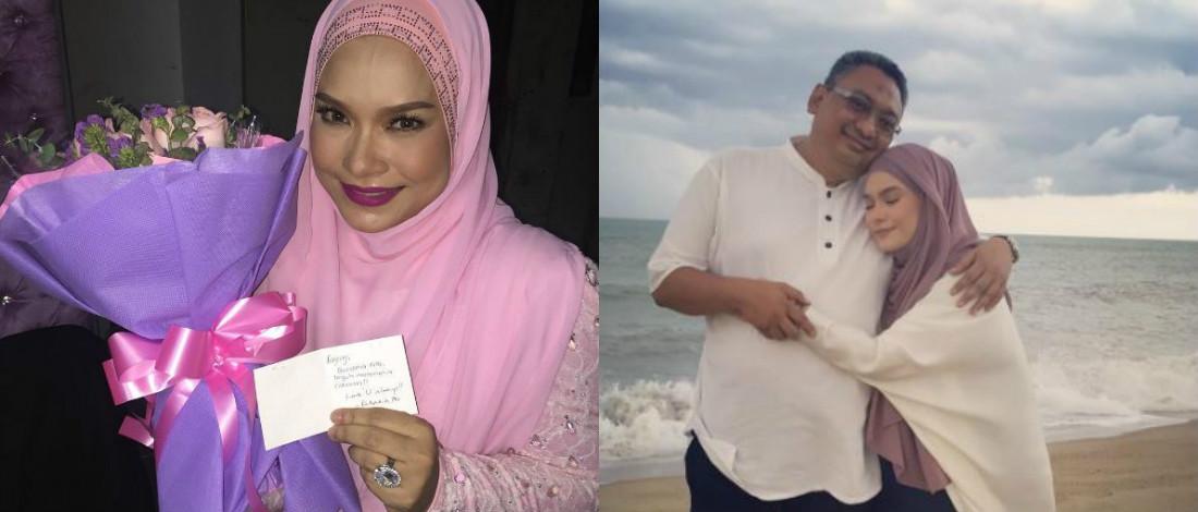 GV 3: Nora Terharu Suami Buat Kejutan Hadiahkan Sejambak Bunga