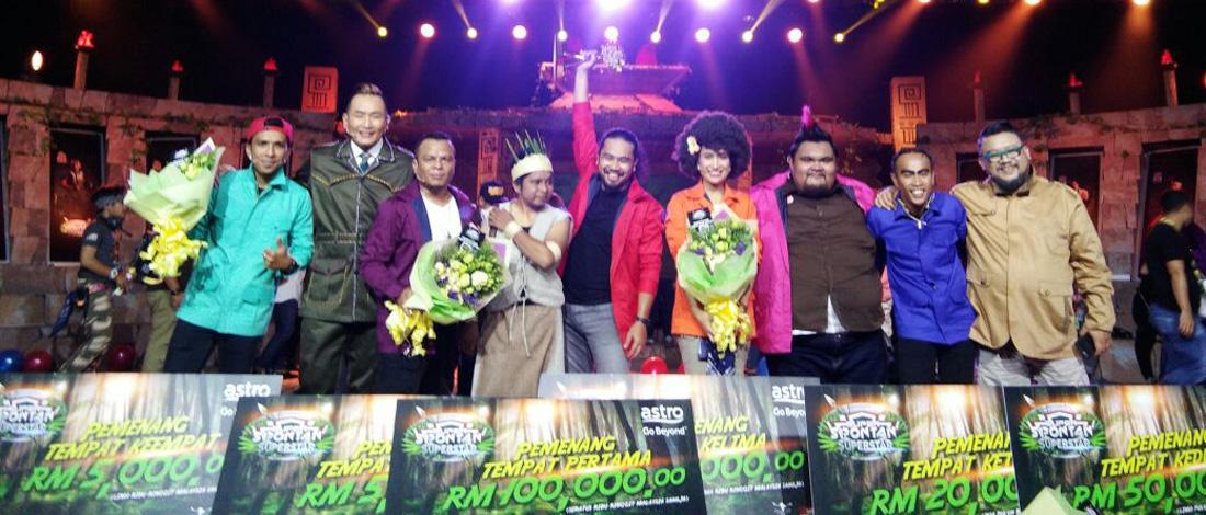 Johan Tepati Ramalan, Muncul Juara SS Superstar