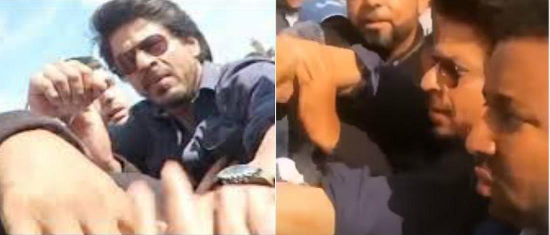 Hilang Sabar, Shah Rukh Khan Nyaris Tumbuk Peminat Biadap