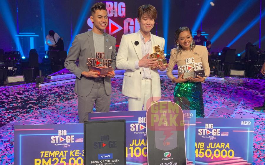 Penyanyi Korea, Han Byul Juara Big Stage 2019!