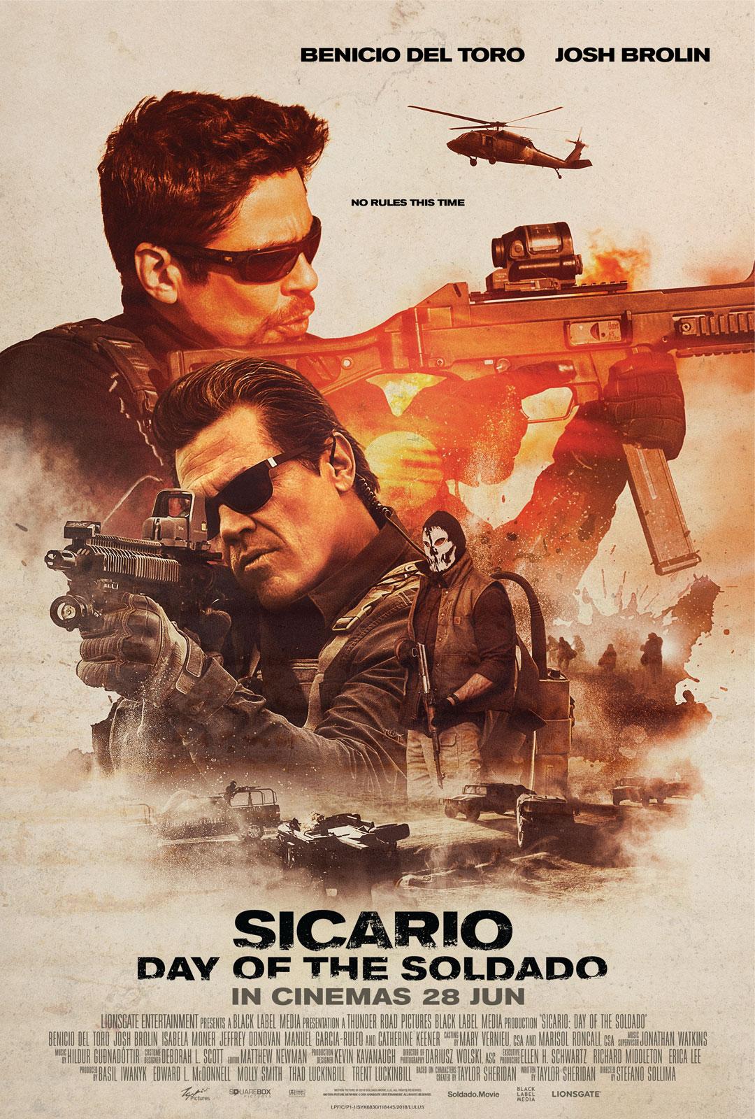 #PeraduanGempak: Sicario - Day of the Soldado