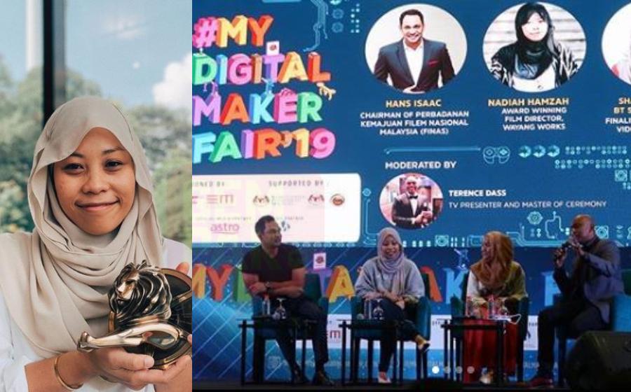 Pengarah Nadiah Hamzah Seronok Kongsi Ilmu di #MyDigitalMaker Fair 2019