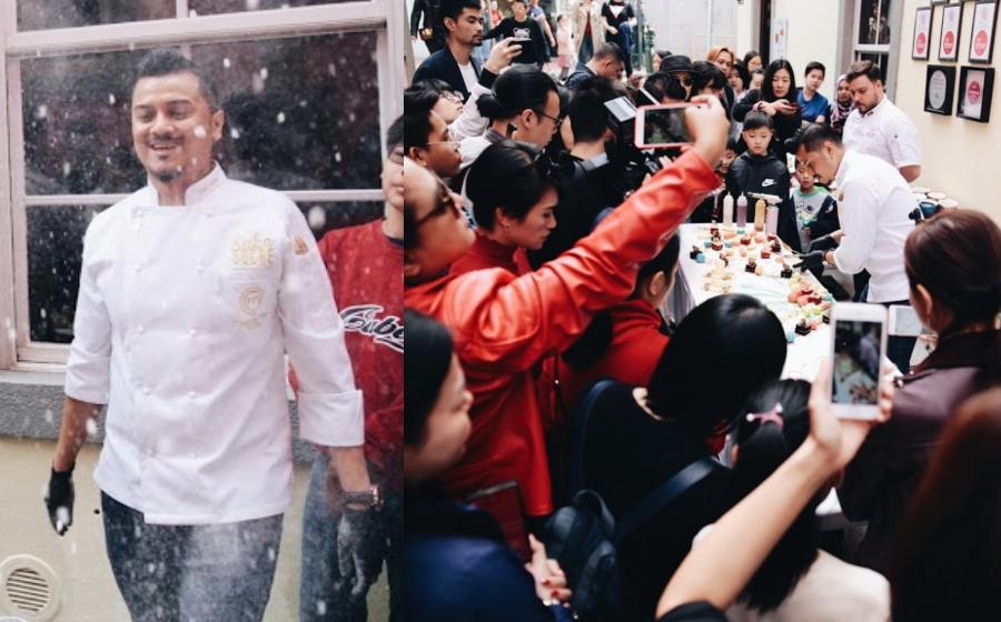 Sweet Table Fazley Yaakob 'Diserang' 50 Pengunjung Taipa Village, Macau