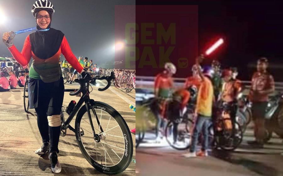 Lutut Terkoyak! Siti Nurhaliza Kemalangan Ketika Lumba Berbasikal
