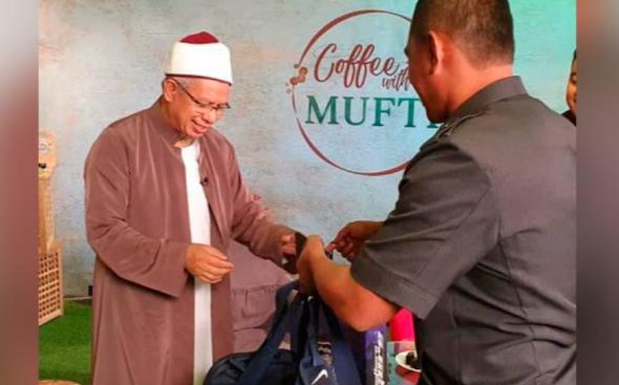 Jersi Harimau Malaya & JDT Buat Mufti Wilayah Daripada Permaisuri