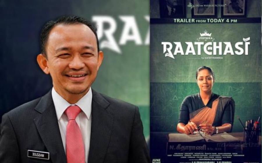 Maszlee Malik Terima Penghargaan Daripada Produksi Filem 'Raatchasi'