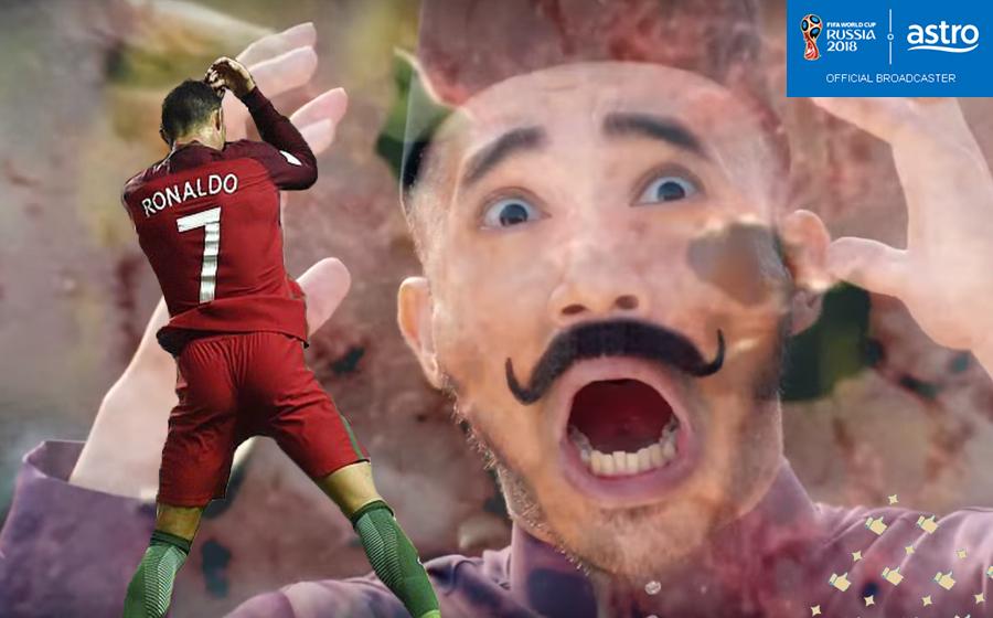 Ronaldo Berlakon Filem Pendek Raya Astro?! Betul Ke?