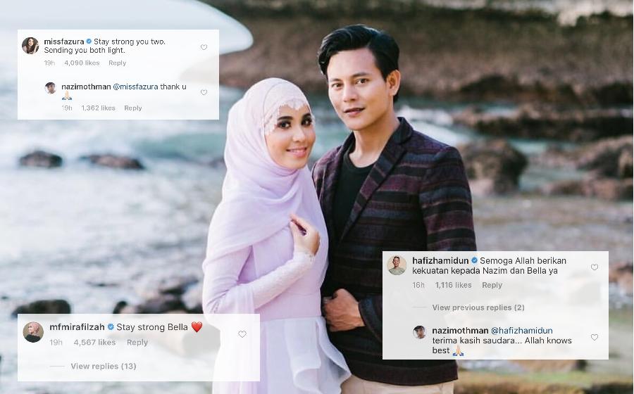 Hafiz Hamidun, Fazura & Mira Filzah Luah Rasa Simpati Terhadap Berita Penceraian Nazim Othman & Bella Dally