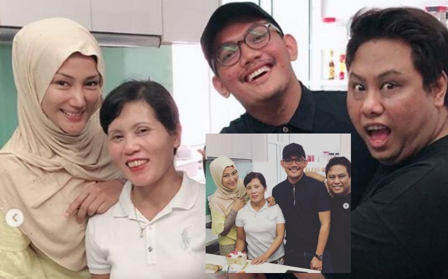 Sambut Birthday Pembantu, Netizen Kagum Lihat Layanan Erra Fazira... Seperti Ahli Keluarga!