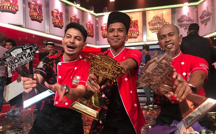 Fad Bocey Tepati Ramalan, Juara Super Spontan Xtravaganza
