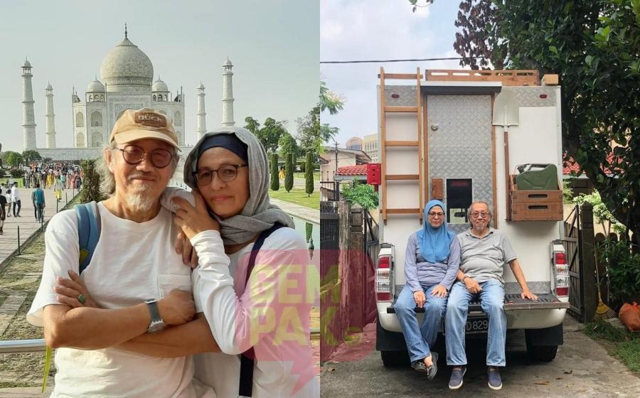 Pasangan Berusia 60-an Ini Memandu Dari Shah Alam Ke Makkah Untuk Tunai Haji