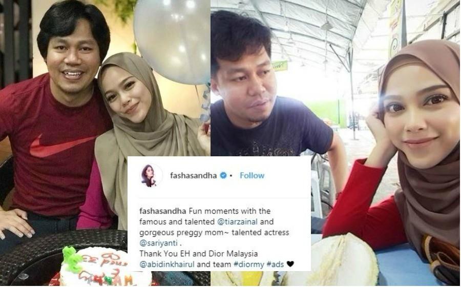 Fasha Sandha Tak Sengaja Dedah Sari Yanti Hamil, Instagram Mula Dihujani Ucapan Tahniah