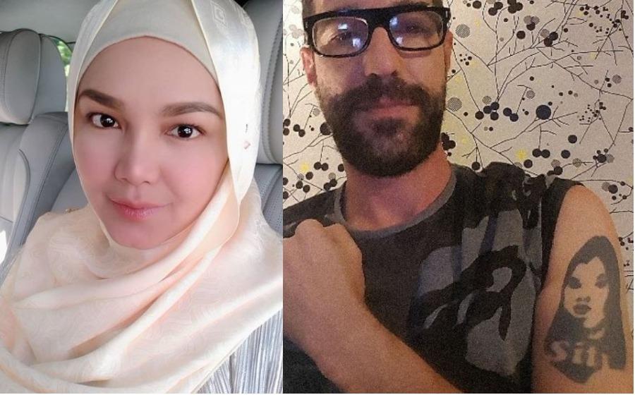 Peminat Dari Brazil Cacah Tatu Nama & Wajah Siti Nurhaliza