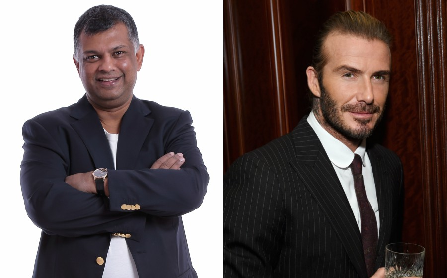 Tony Fernandes 'Caras' David Beckham Dalam Senarai 'World's Most Admired 2018'