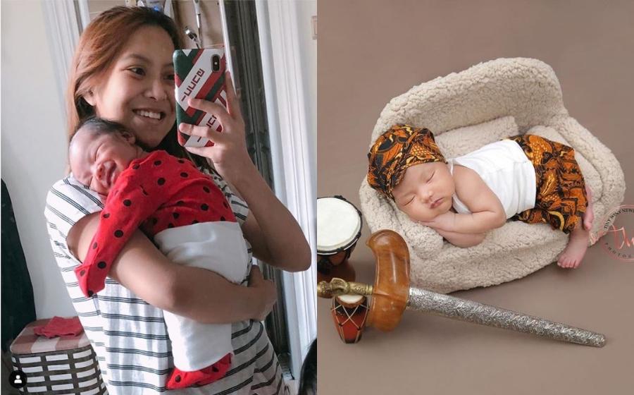 Mawar Rashid Kongsi Gambar Photoshoot Raden Rafael, Alahai Comel Sungguh!