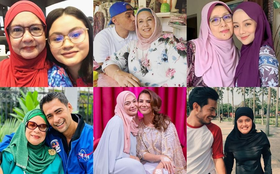 Kongsi Gambar Bersama Wanita Tercinta Sempena Hari Ibu - Alahai Terharu Tengok Gambar Yang Alif Satar Kongsi