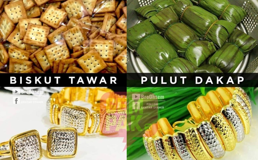 Biskut Tawar Pulut Dakap Uniknya Nama Dan Bentuk Gelang Emas Kelantan Gempak