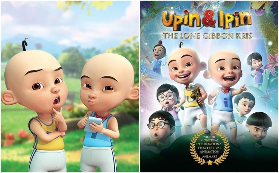 Upin & Ipin: Keris Siamang Tunggal Menang Anugerah Di Festival Filem Animasi Antarabangsa Kanada