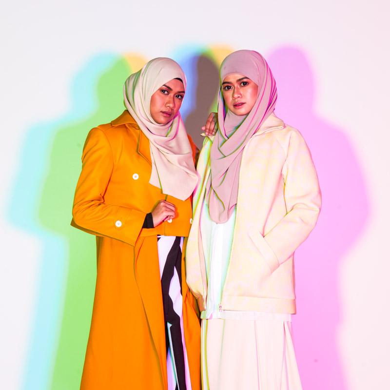 Heliza & Hazwani Helmi