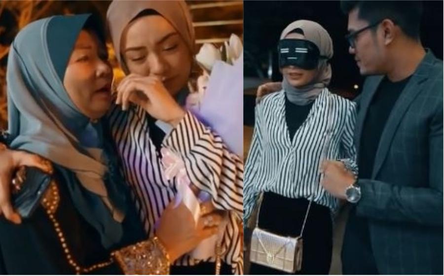 Viral Lagi! Video Sambutan Hari Jadi Syafiqah Aina Bikin Netizen Sebak