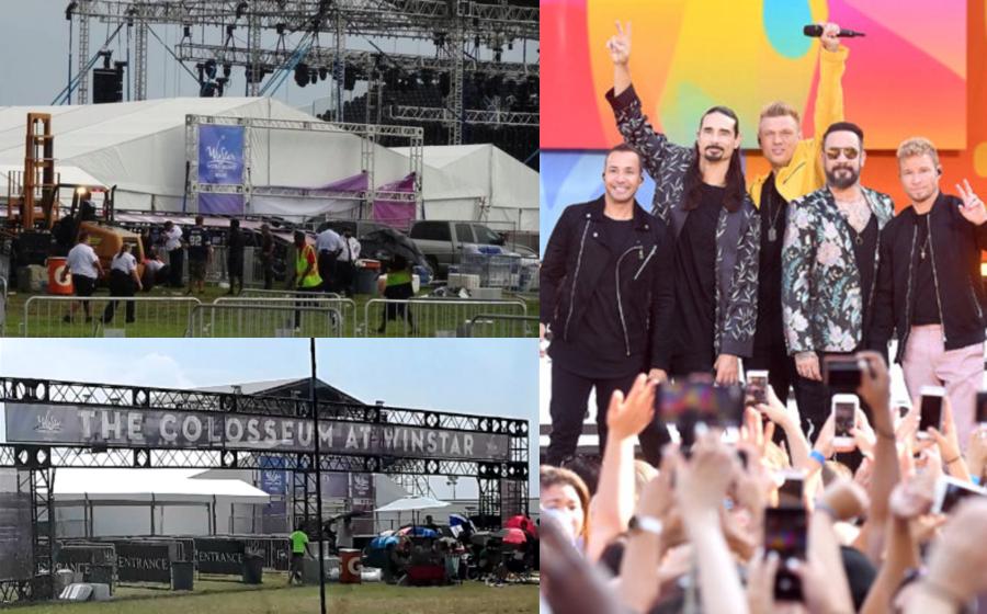 14 Cedera Pintu Gerbang Konsert Backstreet Boys Runtuh Dilanda Ribut