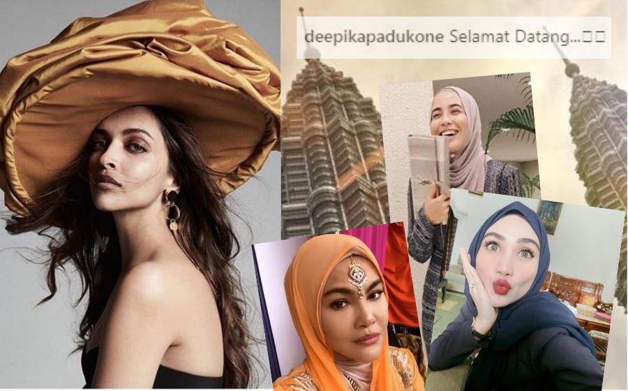 Wawa Zainal, Bella Dally & Umie Aida Antara Yang Teruja Deepika Padukone Datang Kuala Lumpur