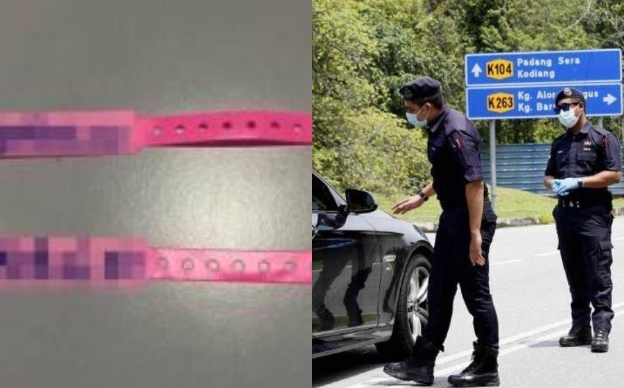 Memang Cari Nahas! Pasangan Suami Isteri Sanggup Potong Gelang Pink Sebab Nak Beli Barang Runcit