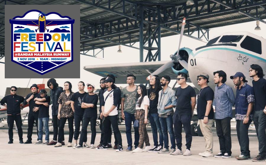 Buat Konsert Dalam Hangar Lapangan Terbang? Ini Jawab Penganjur Freedom Festival