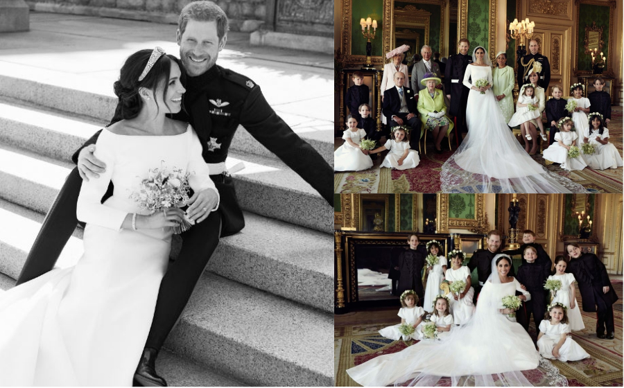 Prestij & Romantis! Foto-Foto Rasmi #RoyalWedding Putera Harry & Meghan Markle Dari Istana Kensington
