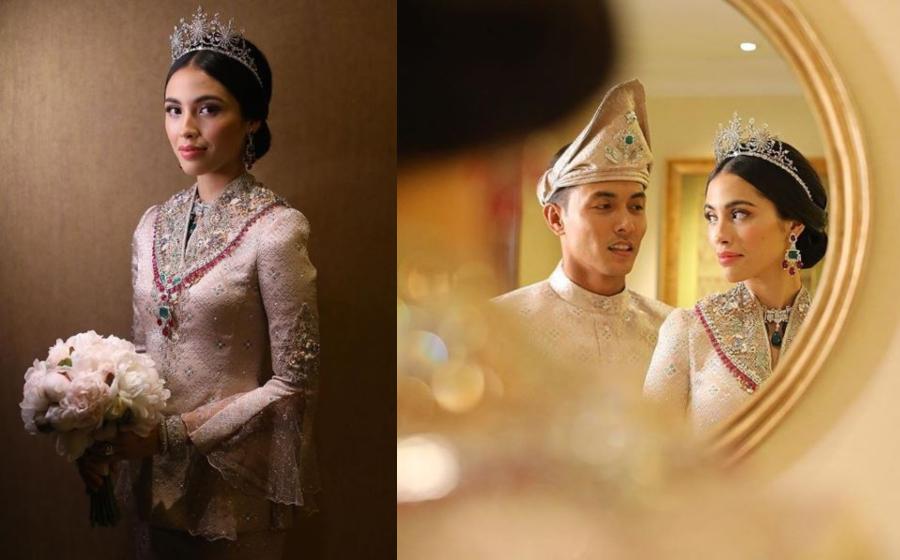 Indahnya Majlis Resepsi Pasangan Diraja Tengku Iman Abdullah & Tengku Bakar
