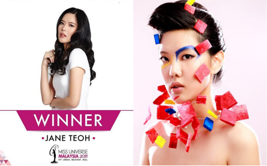 Ramai Tak Puas Hati Jane Teoh Ditabal Miss Universe Malaysia 2018