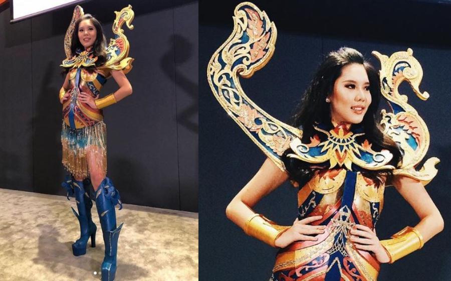 Perahu Bangau! 5 Fakta Tentang Kostum Nasional Miss Universe Malaysia 2018