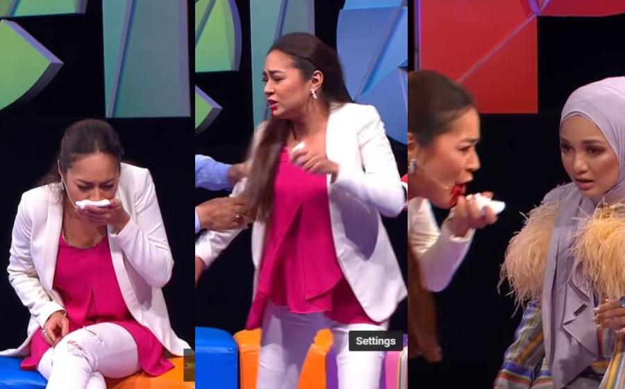 Masing-Masing Tercengang! Maya Karin Muntah Darah Di Set MeleTOP, Oh! Rupa-Rupanya ...