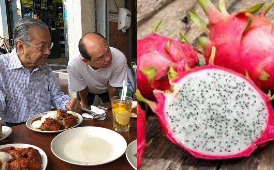 Senarai Jenis Makanan Tun M Didedahkan, Buah Naga Antara Yang Dielak!