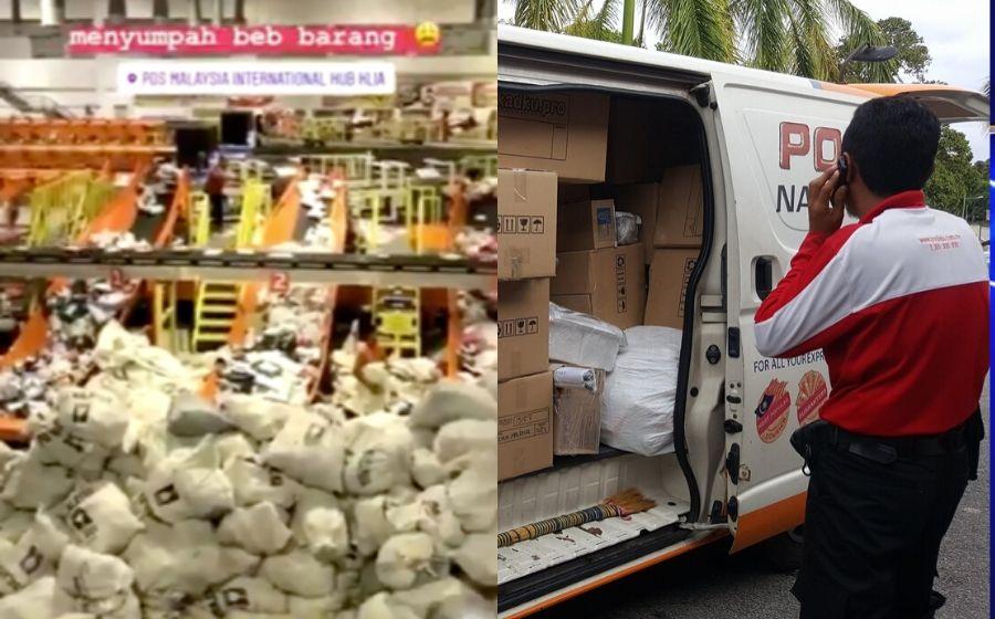 Harap Anda Bersabar Pos Malaysia Terima Purata 600 000 Parcel
