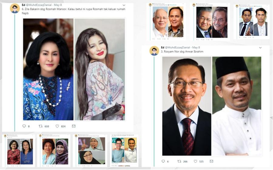 Netizen Cadangkan Zila Bakarin Bawa Watak Rosmah Mansor & Rosyam Nor Jadi Anwar Ibrahim, Okey Ke?