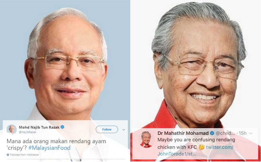 Isu Rendang Ayam Tak 'Crispy', PM Najib & Mahathir Pun Back Up Zaleha