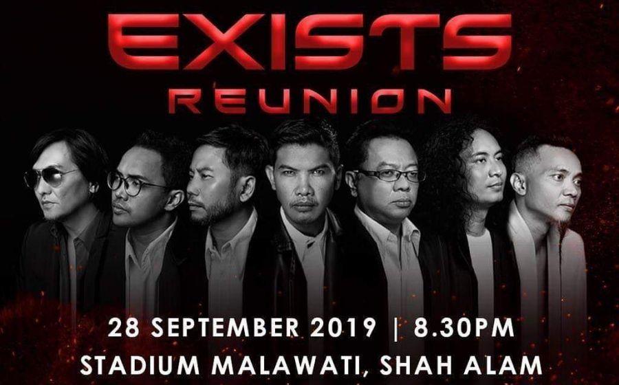 Vokalis Ditahan Di Johor Bahru, Konsert Exists Reunion Tetap Berlangsung