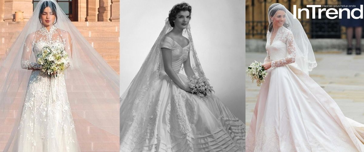 10 Iconic Wedding Dresses Of All Time Yang Nak Kahwin