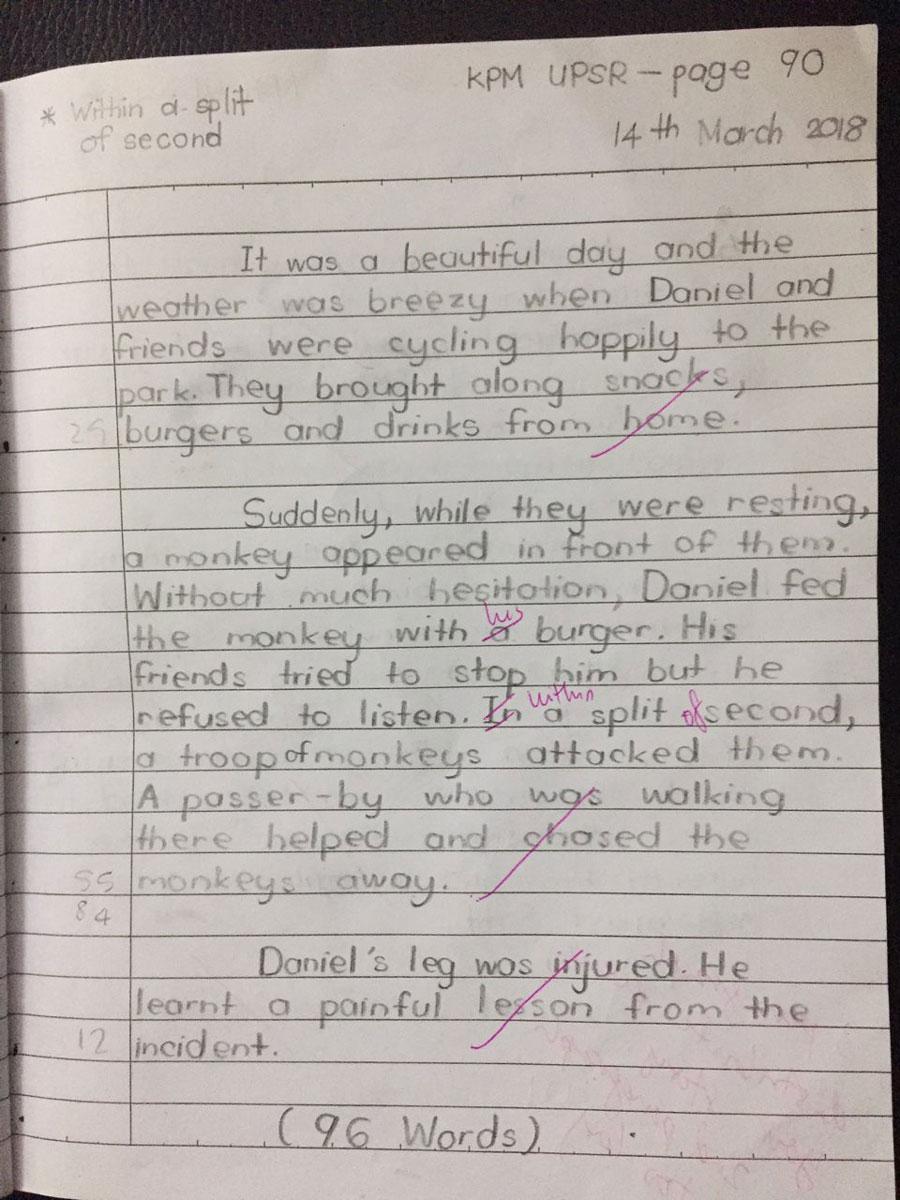 Ibu Bapa Buntu Anak Tak Mahir Tulis Karangan Bahasa Inggeris Upsr Ini Rahsia Cemerlang Minta Anak Amalkan Artikel Gempak