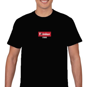 Thinker Box Logo Tee (Black)