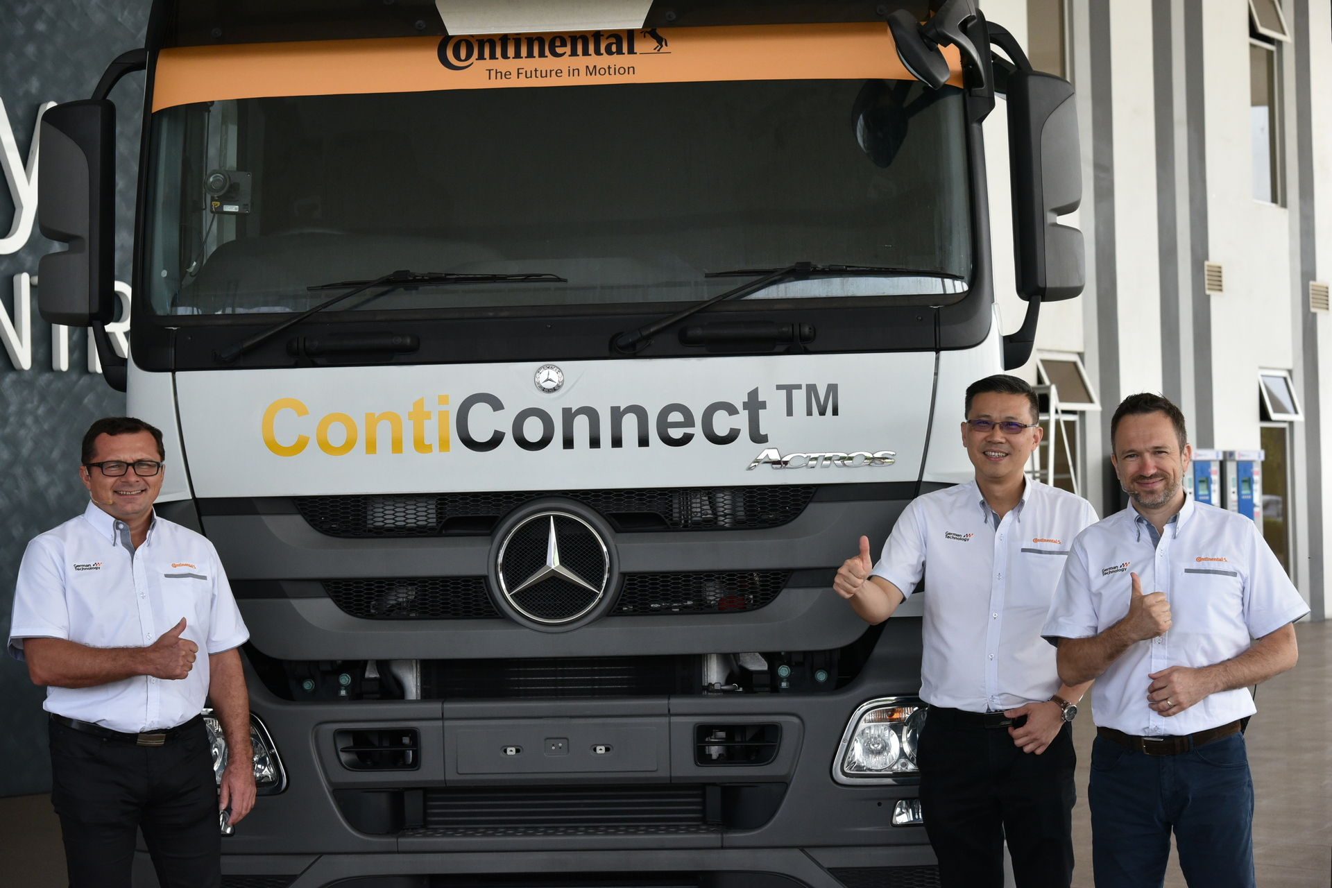 malaysian fleet trucks to be connected like no other in the world