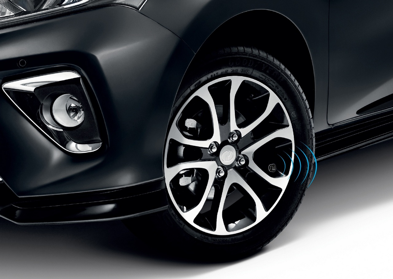 perodua expands gearup catalogue with bluetooth tyre pressure monitoring system