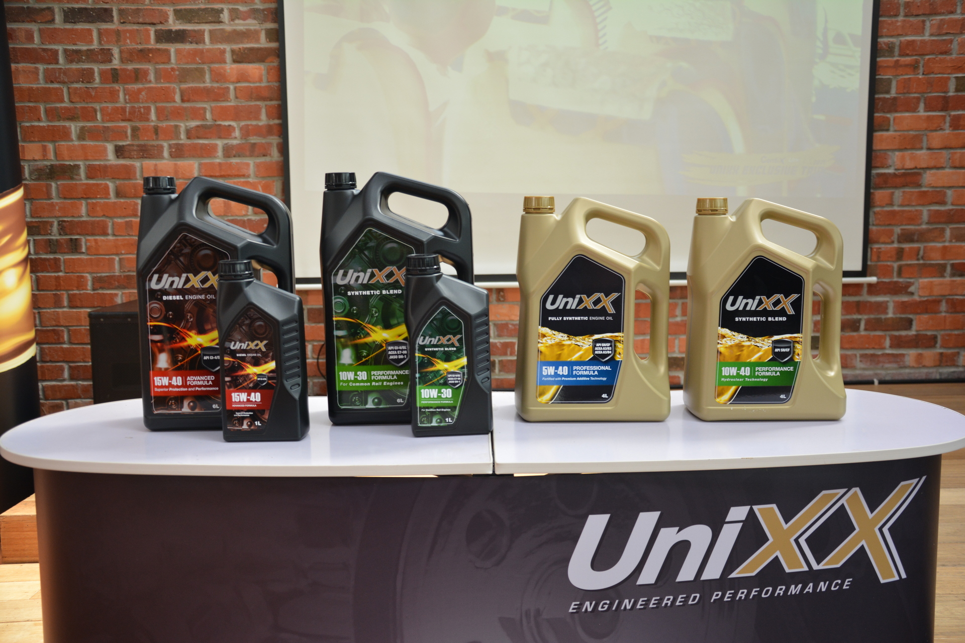 there s a new unixx range of lubricants in the market