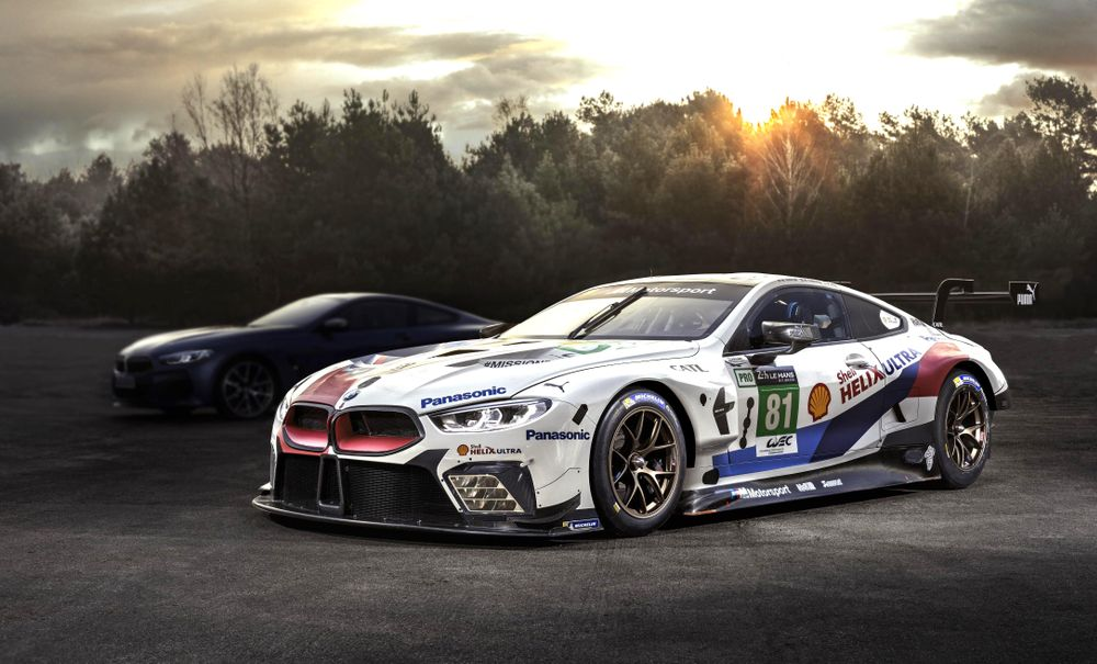 bmw s finally revealing the actual 8 series at le mans