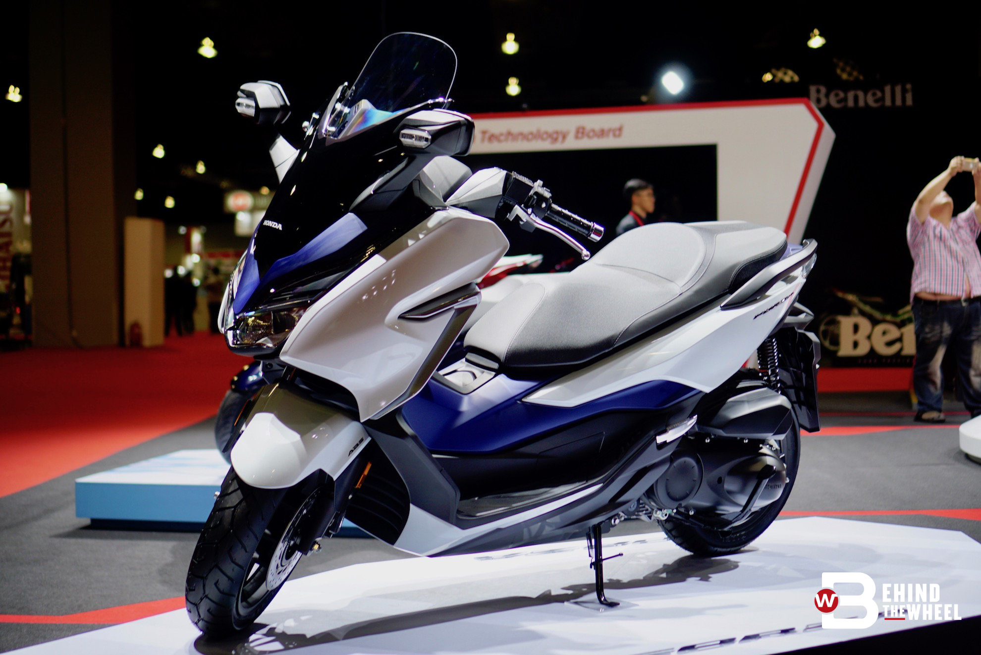 klims 18 the honda forza is a gorgeous scooter with a premium price
