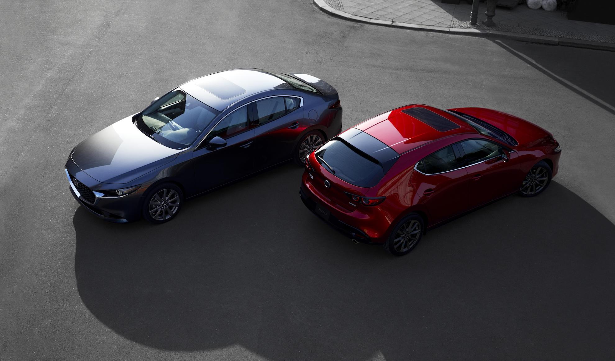 the gorgeous new gen mazda3 arrives in la with mazda s best toys
