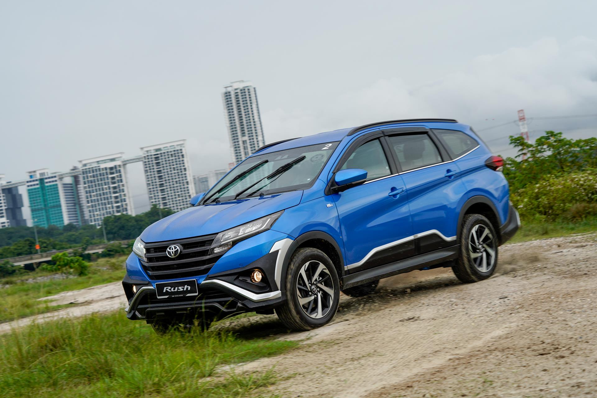 better late than never as toyota rush es back into the game