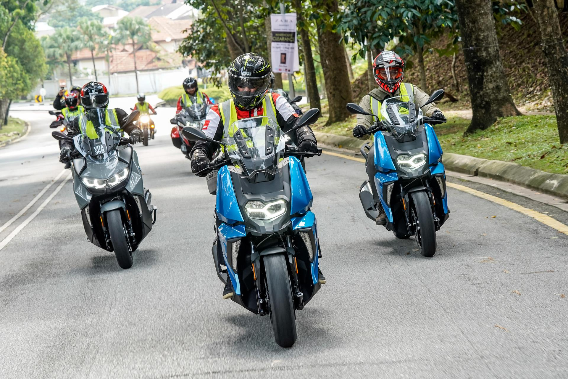 bmw motorrad launches four new ultimate riding machines