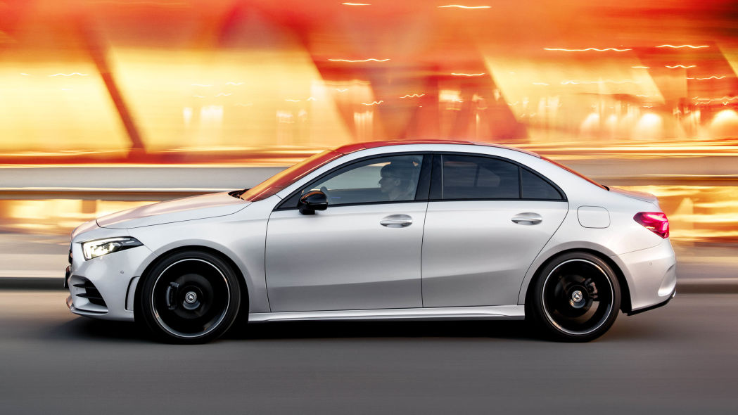 mercedes isn t fooling anyone by labelling the a class sedan a limo
